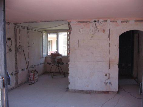 nappali felújítása-előtte
